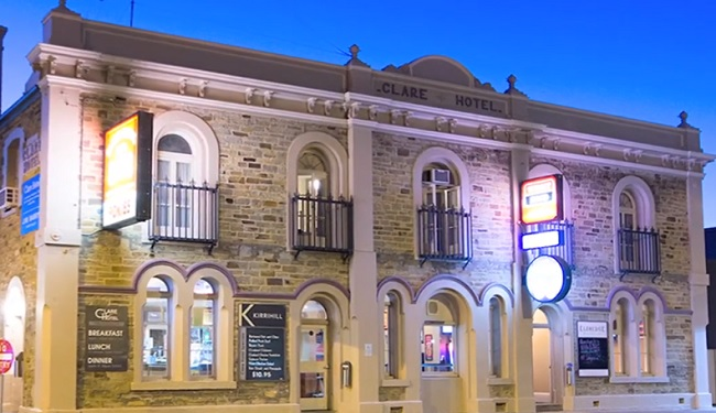 Clare Hotel - Clare - South Australia - Promotion