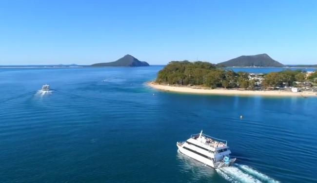 Moonshadow TQC Cruises - Port Stephens - New South Wales - Promotion