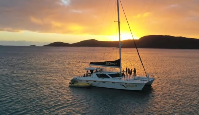 Wings Private Sailing Charters - Whitsundays - Queensland - Promotion